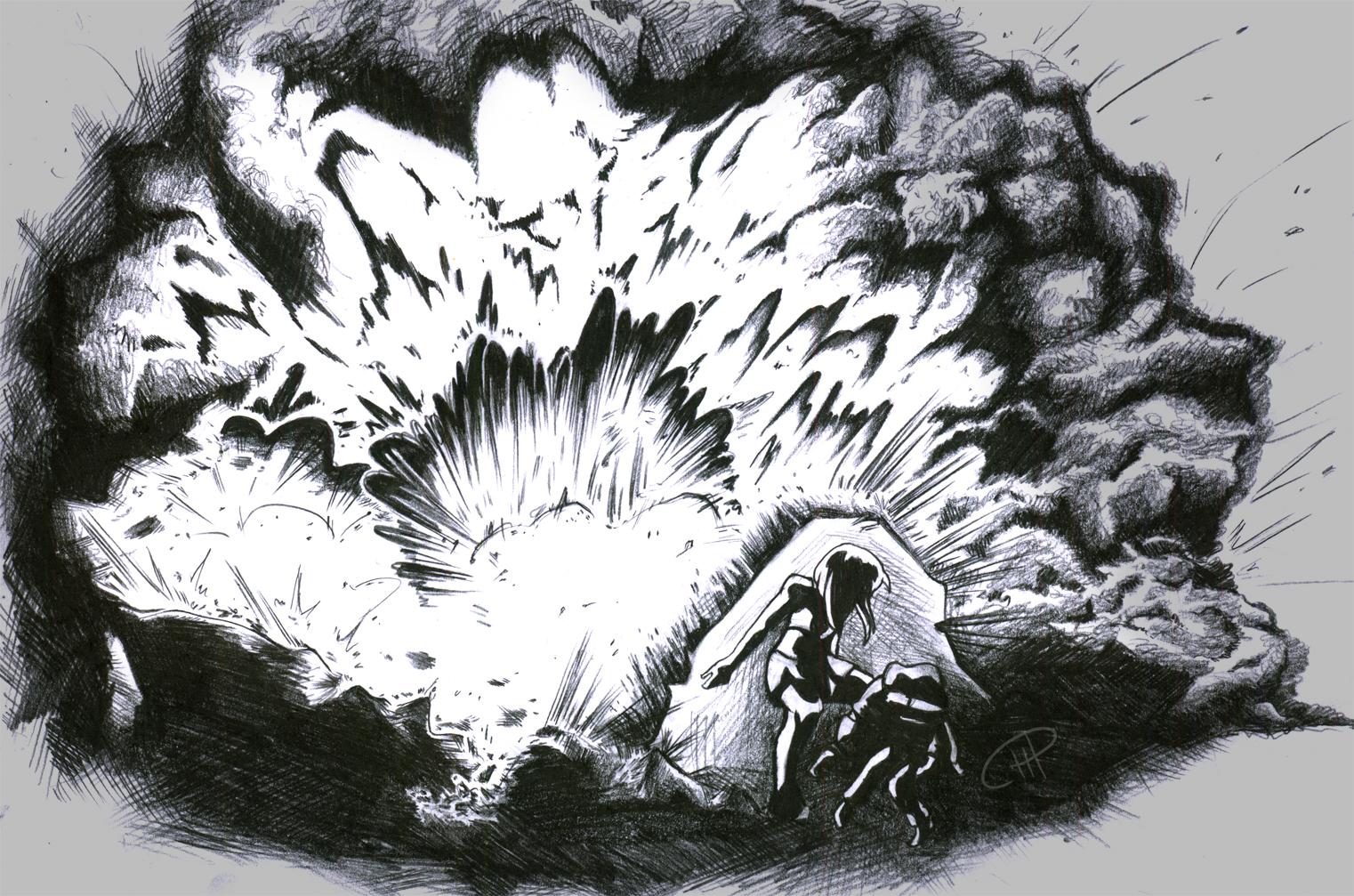 explosion copy